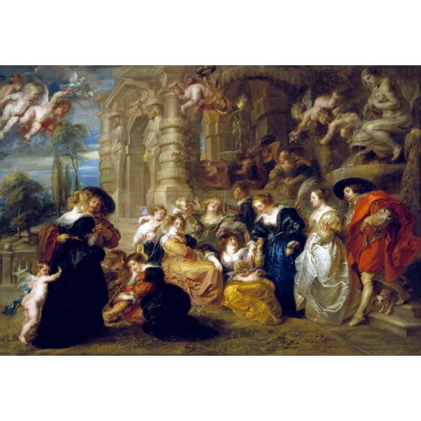 Garden of Love,Peter Paul Rubens,60x40cm