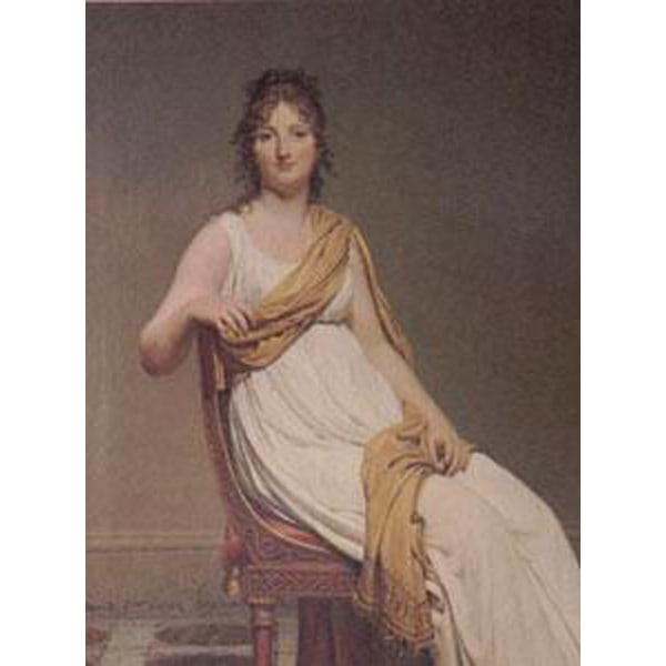 Madame de Verninac,nee Henriette Delacroix,Jacques-Louis David