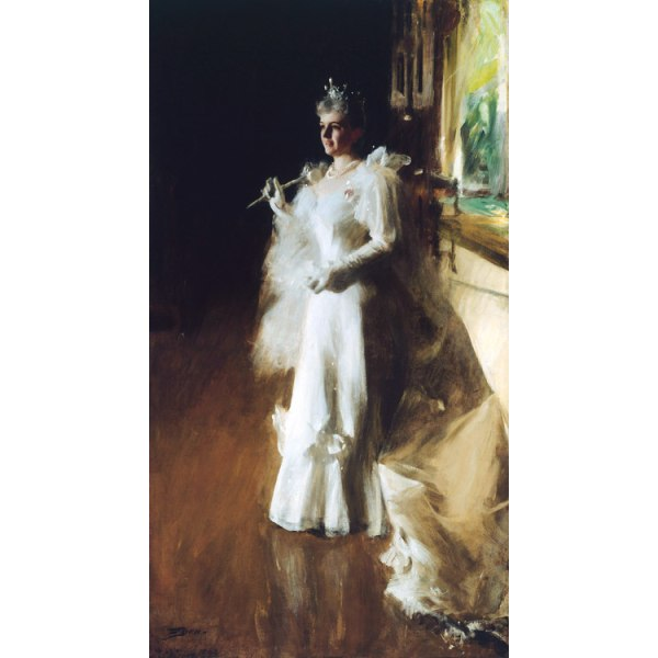 Mrs Potter Palmer,Anders Zorn,80x40cm