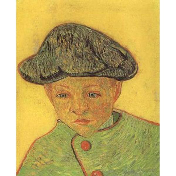 Portrait of Camille Roulin,Vincent Van Gogh,43x35cm