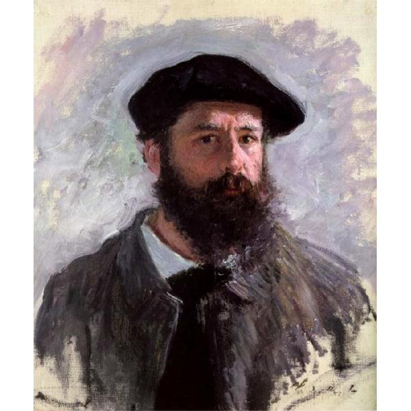 Self-Portrait,Claude Monet,56x46cm