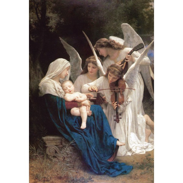 Sketch for Song of the,Adolphe William Bouguereau,39.4x27.9cm
