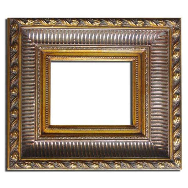Spegel i guld, yttermått 55x65 cm Guld