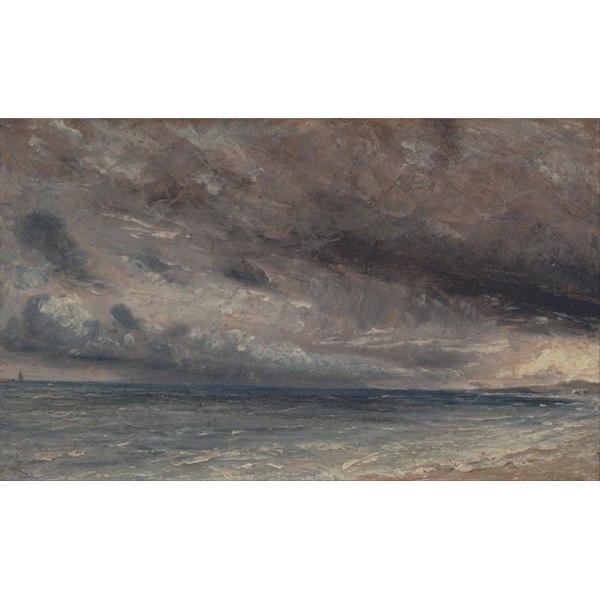 Stormy Sea,John Constable,60x36cm