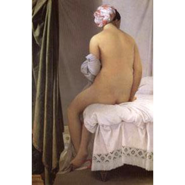 The Bather of Valpincon,Jean Auguste Dominique Ingres,60x40cm