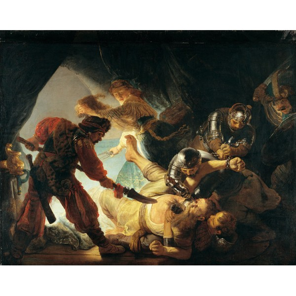 The Blinding of Samson,Rembrandt,50x40cm Multicolor for oil paintings