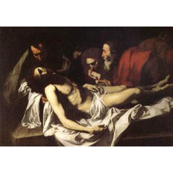 The Deposition,Jusepe de Ribera,60x40cm