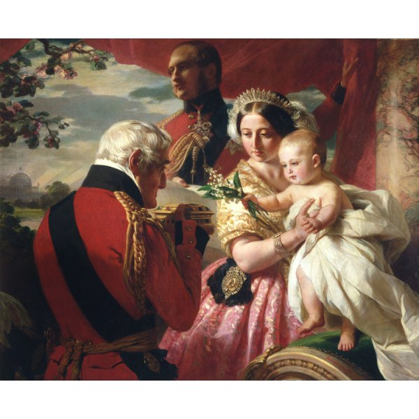 The First of Mays,Franz Xaver Winterhalter,50x40cm