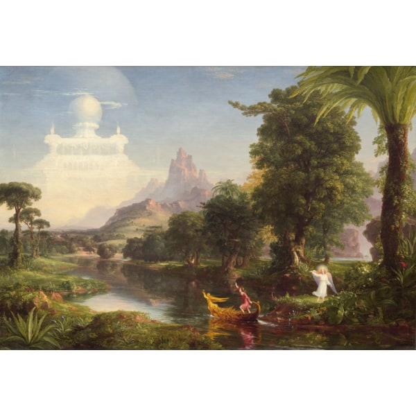 The Voyage of Life:Youth,Thomas Cole,60x40cm