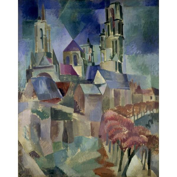Tower,Robert Delaunay,50x40cm Brun