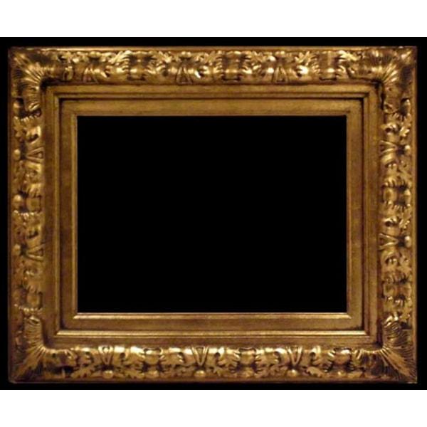 Träram i guld, innermått 50x60 cm Guld