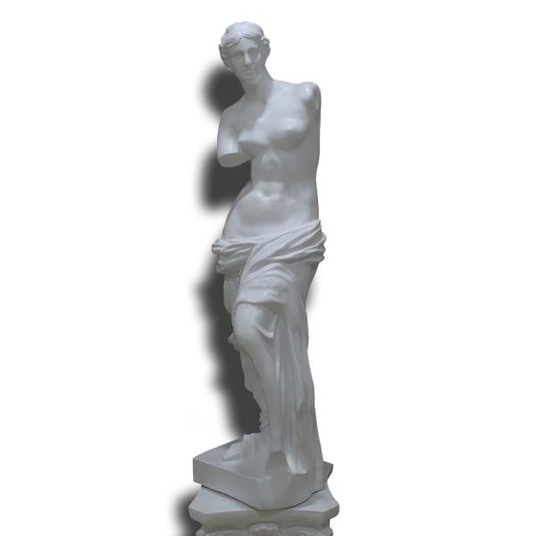 Venus i vit, 48x13x12 cm i vit Vit