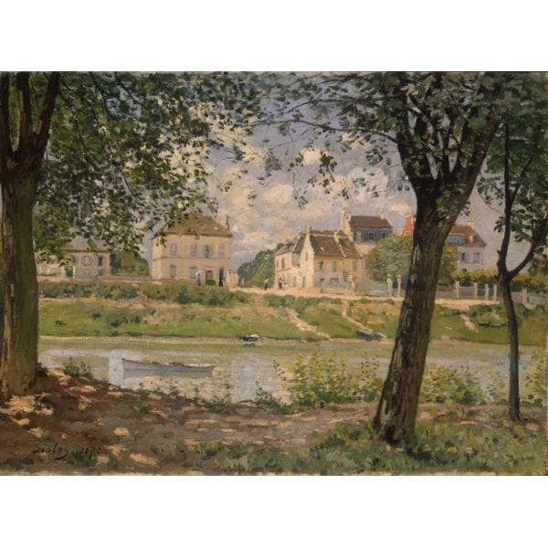 Villeneuve la Garenne on the Seine,Alfred Sisley,50x37cm Multicolor for oil paintings