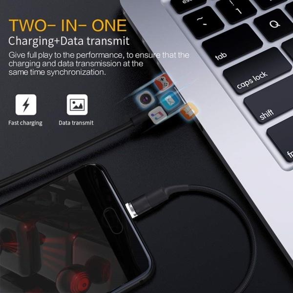 Allt-i-ett data- och laddkabel - Lightning, Micro USB och USB-C