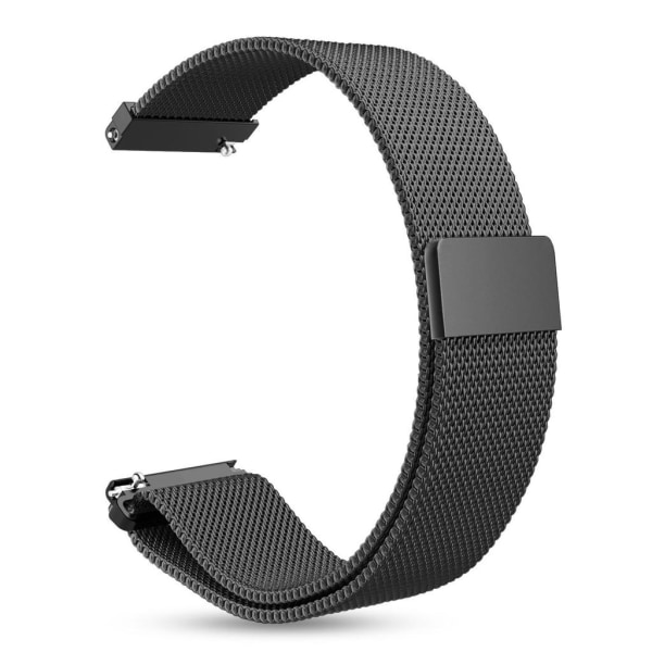 Armband Samsung Gear S3 Classic/S3 Frontier 22 mm milanesisk loo Svart