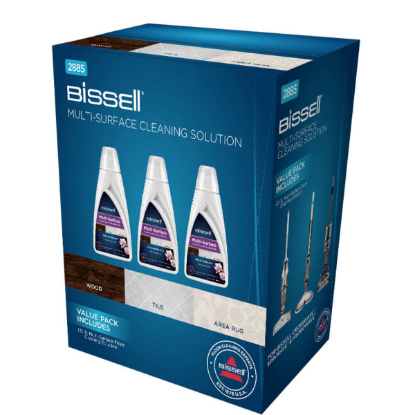 BISSELL MultiSurface Trio Pack 3x 1789L