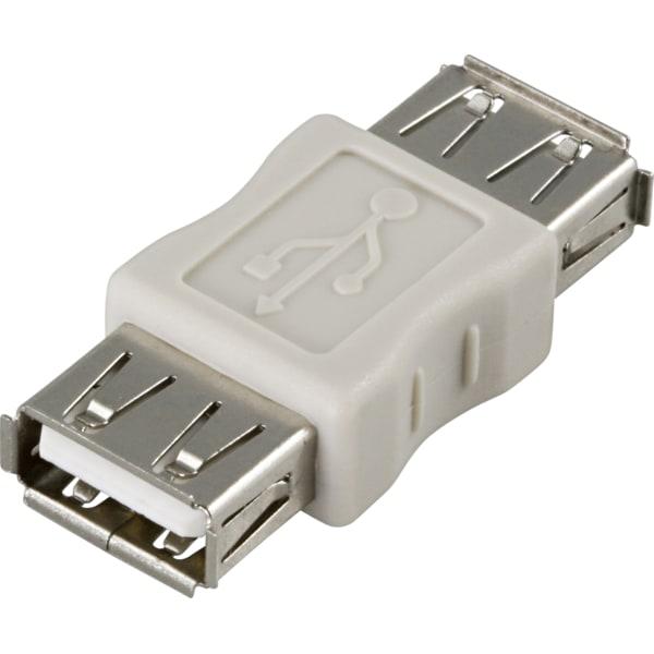 DELTACO Könbytare USB A-A ho