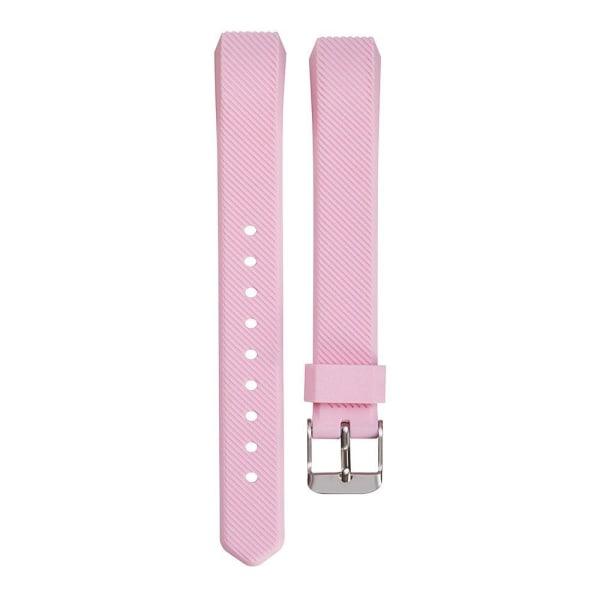 Fitbit Alta/HR armband i silikon - sportmodell (S) - Rosa Rosa