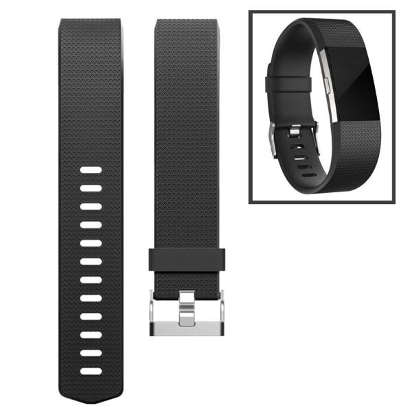 Fitbit Charge 2 armband Svart (L)