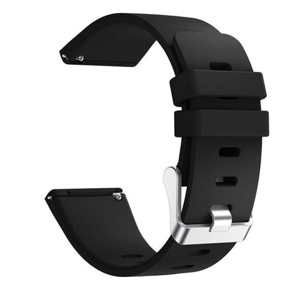 Fitbit Versa armband silikon Svart (S) Svart S