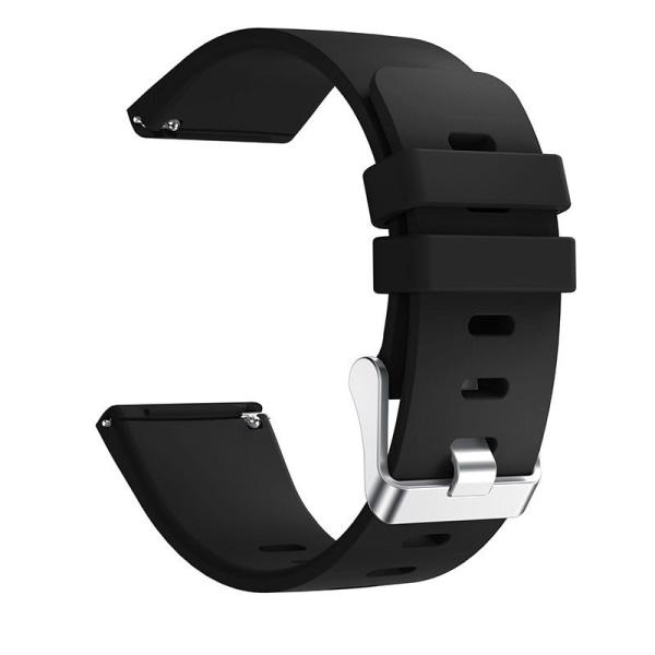 Fitbit Versa armband silikon Svart (S)