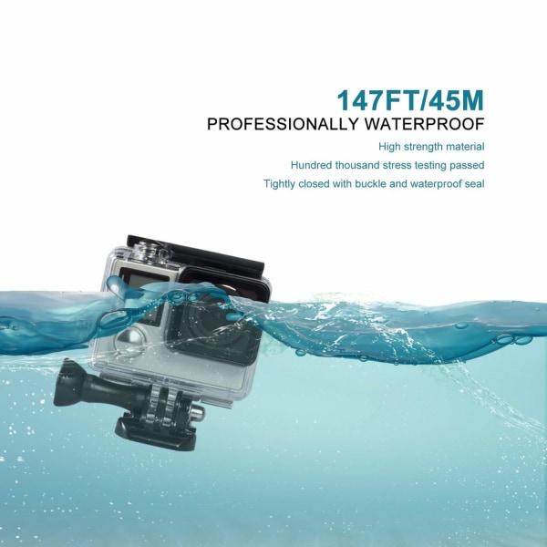 GoPro Hero 3/3+/4 vattentätt skal/skydd Transparent
