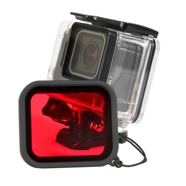 GoPro Hero5/6/7 Black vattentätt skal Rödfilter (2018)