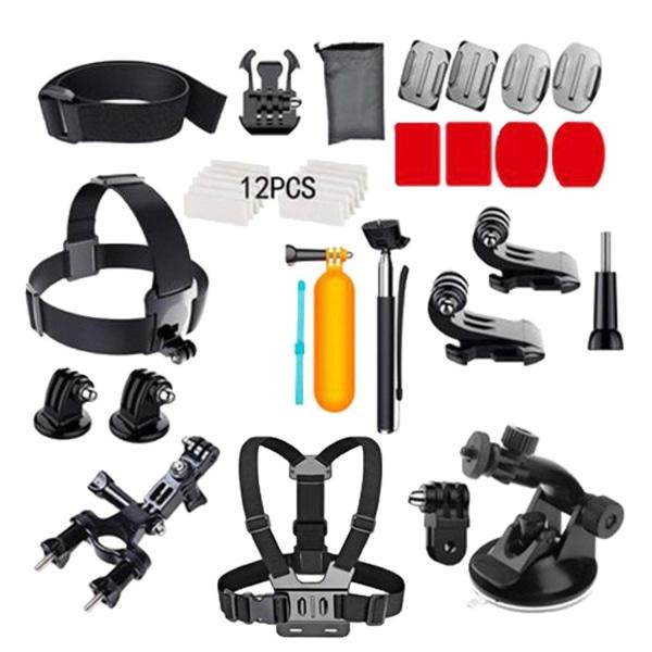GoPro tillbehörs-kit med 37 delar