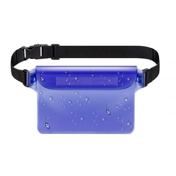 Köp Justerbar vattentät midjeväska Blå Blå | Fyndiq