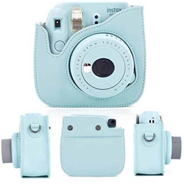 Kameraväska för Instax Mini 9 - Blå