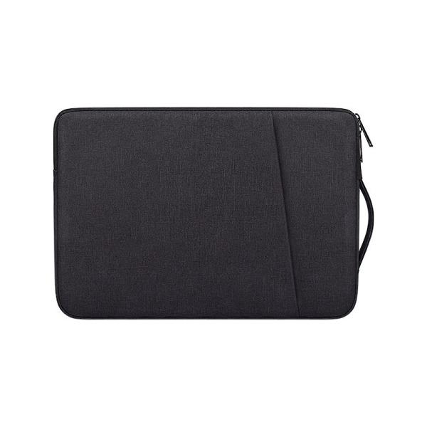 Laptopfodral 13.3 tum canvas - svart