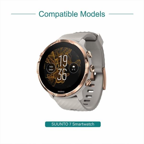 Magnetisk USB-laddare för Suunto 7 Smartwatch