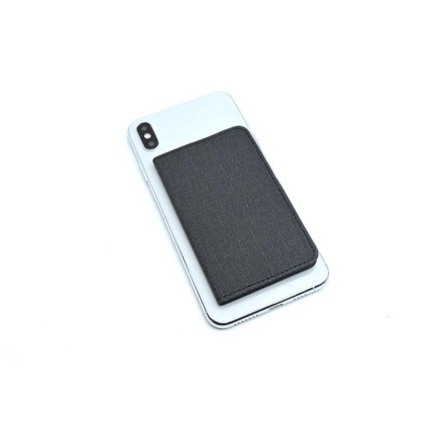 Magnetiskt korthållare till mobilen - svart