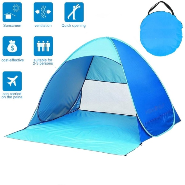 Köp Pop up tält UV40+ ljusrosamörkrosa   Fyndiq