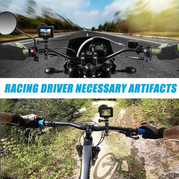 Roterbart cykelfäste / motorcykelfäste för GoPro