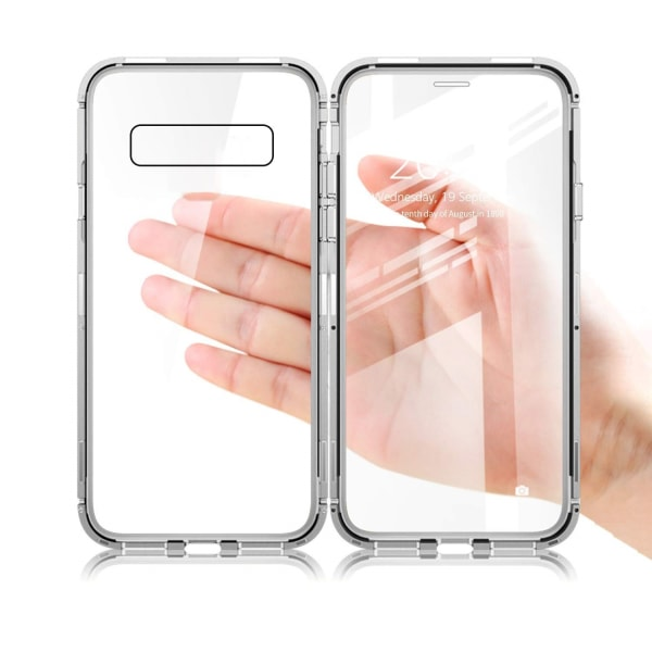 Samsung Galaxy S10 skal med skärmskydd Silver