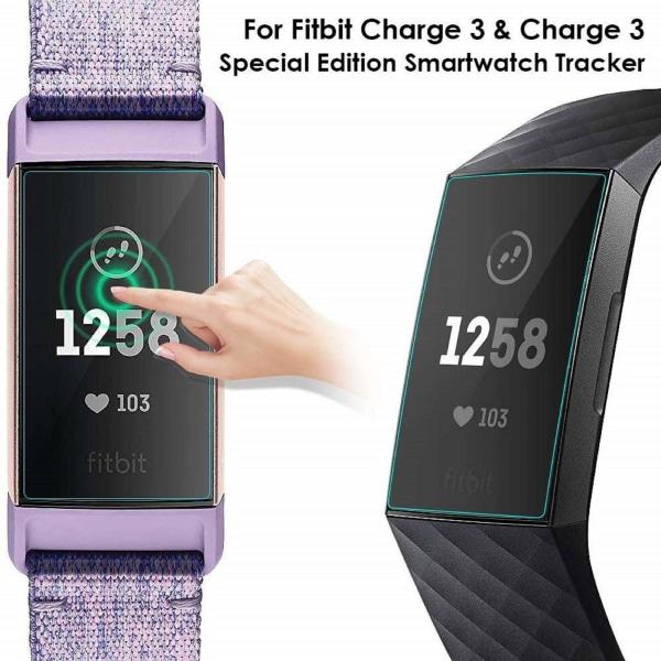 Skärmskydd Fitbit Charge 3 TPU 5-pack