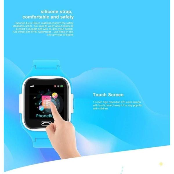 Smartwatch GPS klocka för barn Blue