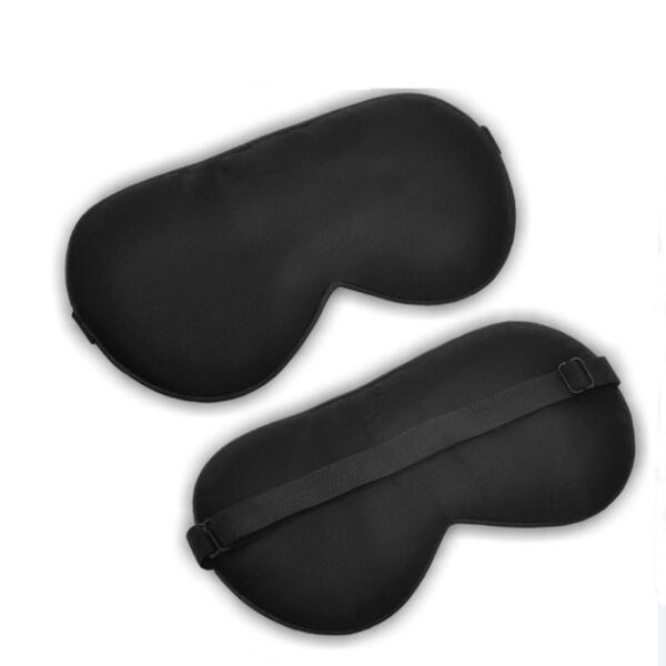 Sovmask - 100% silke - Svart