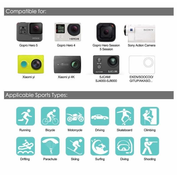 Tillbehörskit för GoPro Hero - 50 delar