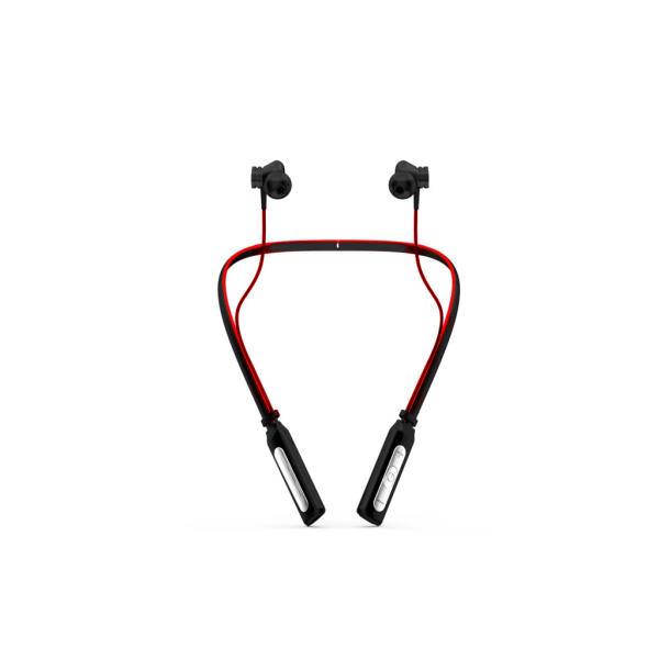 Trådlösa in-ear hörlurar med sport-halsband