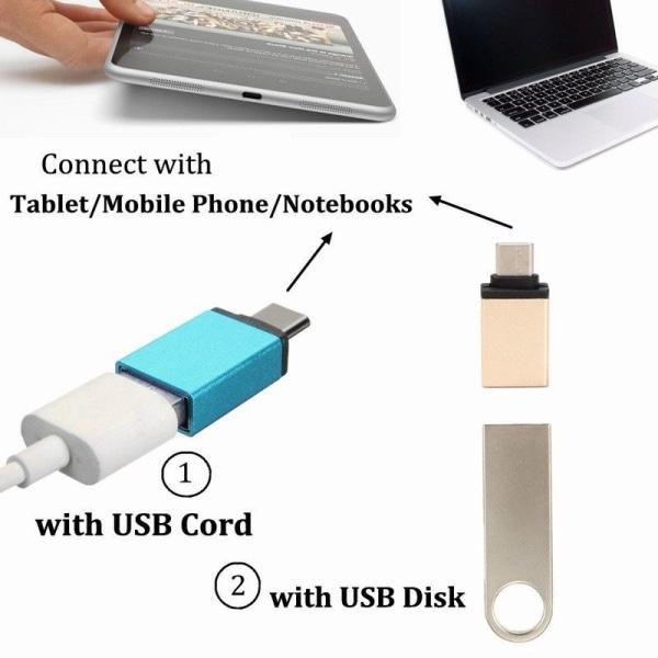 USB till USB-C 3.1 OTG adapter