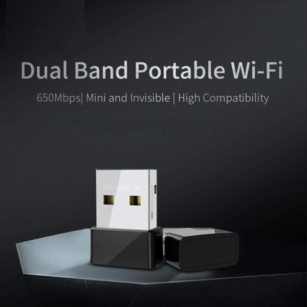 USB Wifi adapter Dual Band 650 Mbps