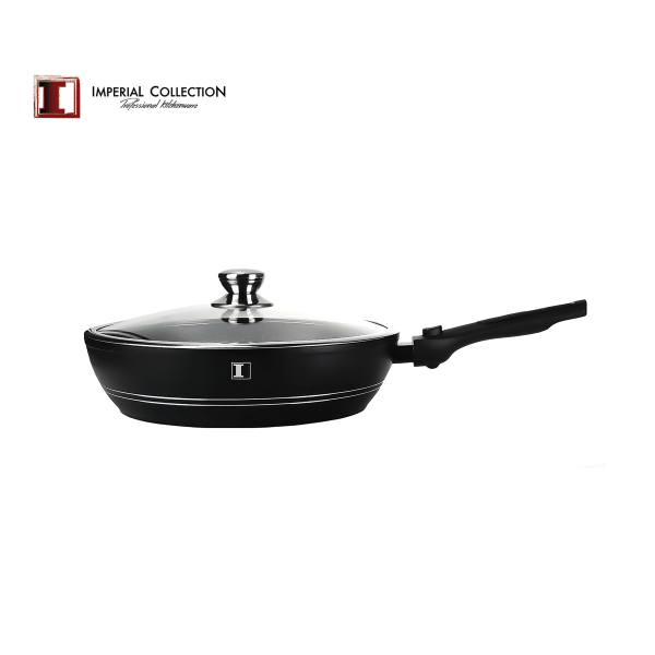 Imperial Collection djup stekpanna avtagbart handtag 32cm  svart 32 cm