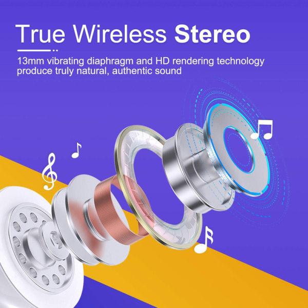 hörlurar, Bluetooth 5.0-sporthörlurar Touch-Control,