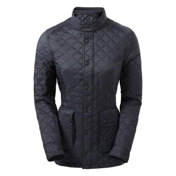 2786 Quartic Quiltic Jacket för kvinnor / damer XXL Marinblå