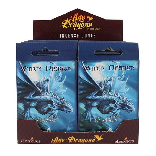 Age Of Dragons Water Dragon rökelsekottar (12 förpackningar om 1