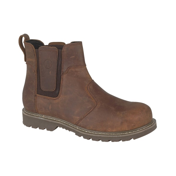 Amblers Abingdon Casual Leather Dealer Boot / Mens Boots 10 UK B