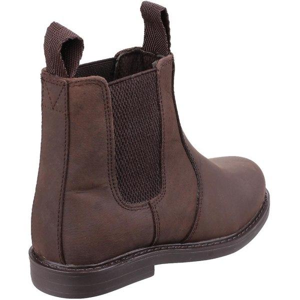 Amblers Barn- / barnbyxor i läder 13 UK Junior Brun