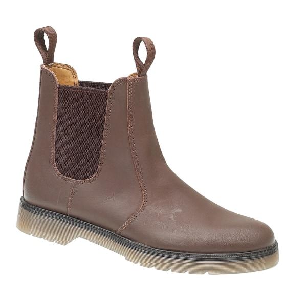 Amblers Chelmsford Leather Dealer Boot / Dam stövlar 3 UK BRUN